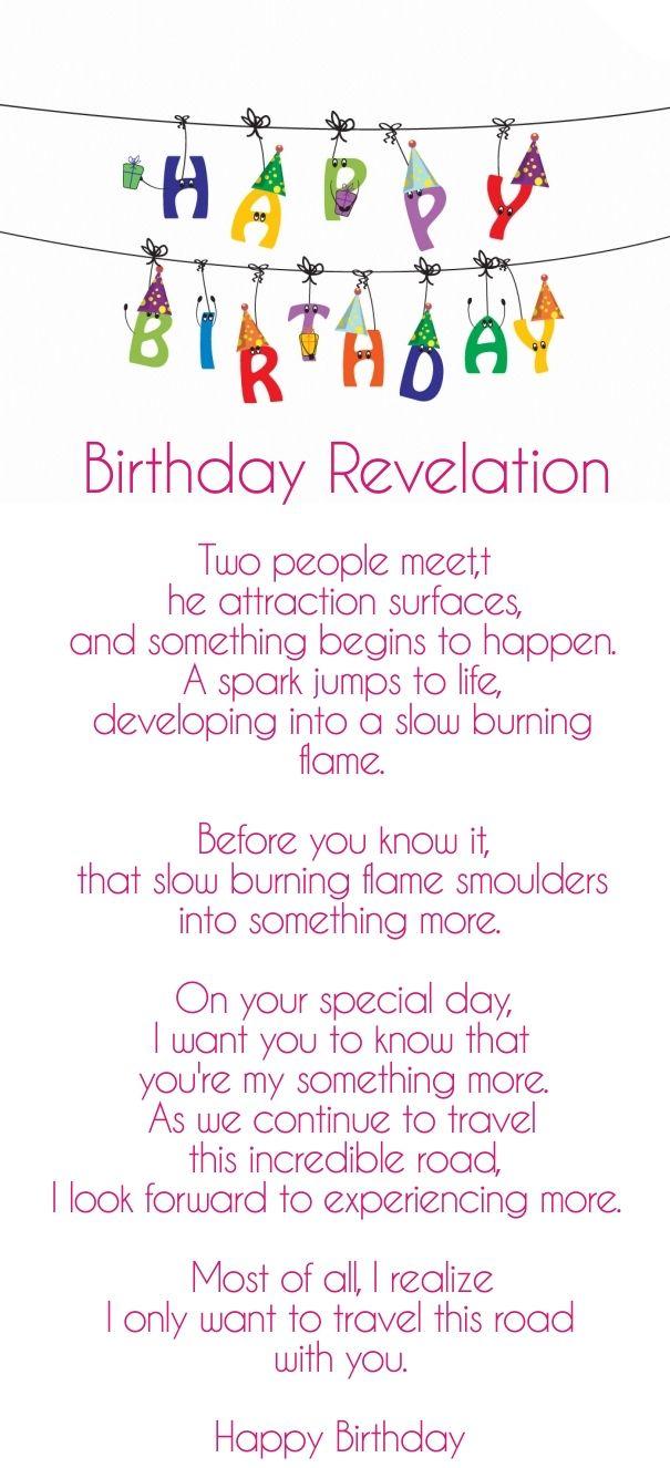 Romantic Birthday Poems For Him Husband Birthday Poems For Him