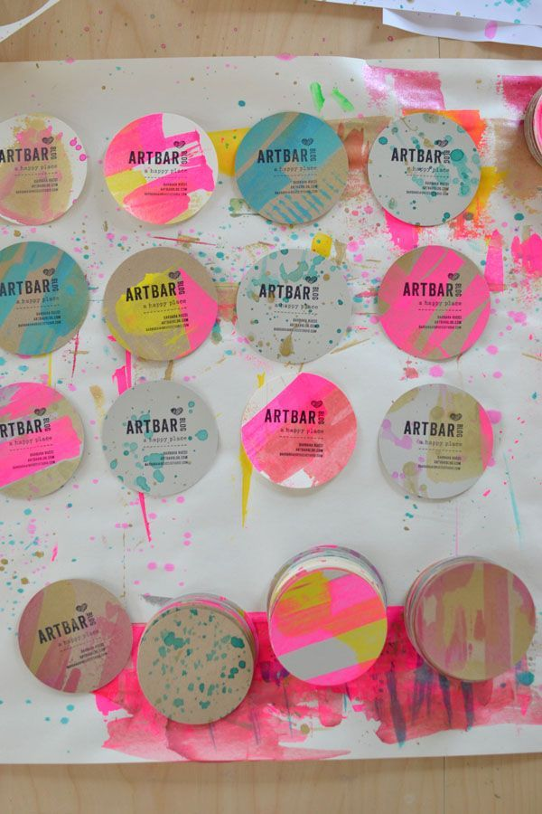 Alt summit 2015 diy business cards colourmoves Choice Image