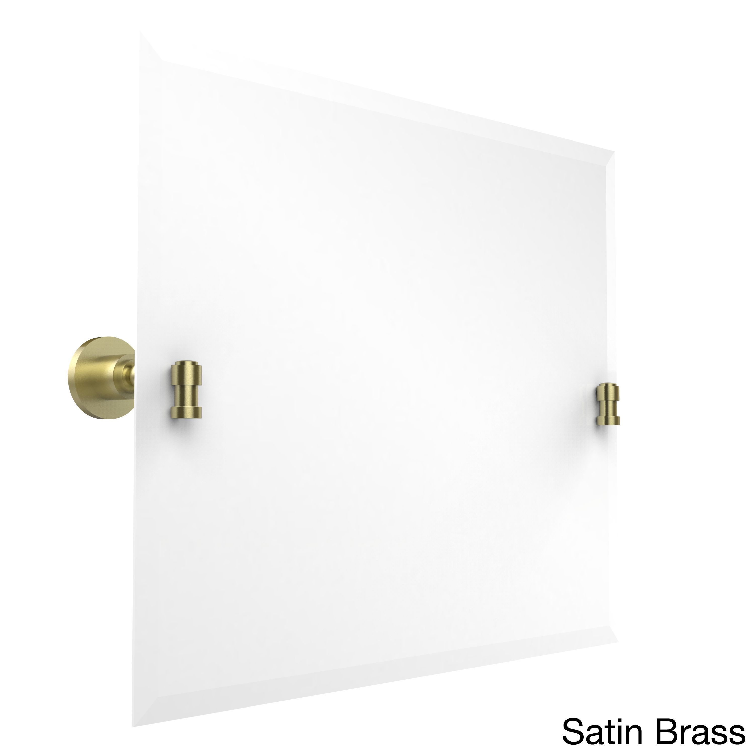 Allied brass wasington square collection framless rectangular