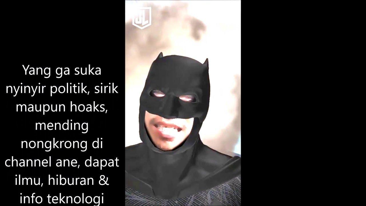 Tonton Video Batman Lucu Kalo Lo Ga Ngakak Setidaknya Ini Cara