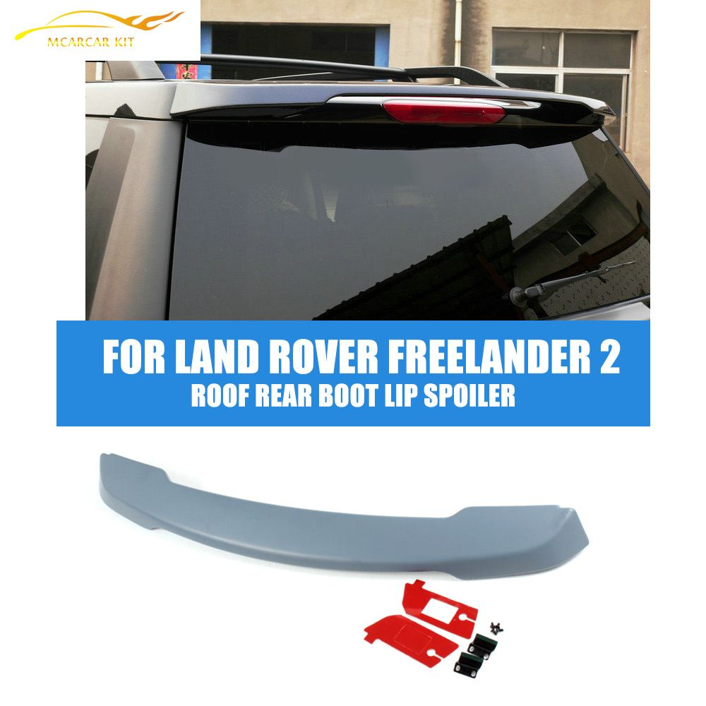 Abs Unpainted Auto Car Roof Rear Boot Lip Spoiler Wings For Land Rover Freelander 2 2006 2012 Land Rover Freelander Land Rover Freelander 2