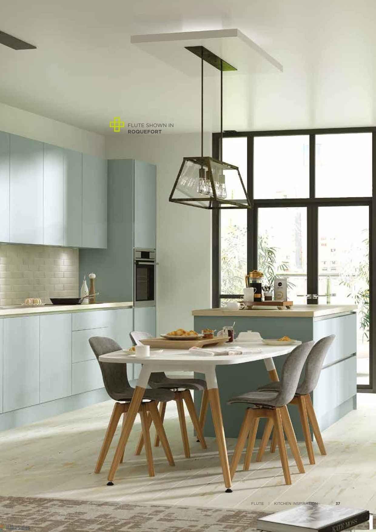 Image result for homebase flute kitchen roquefort | kitchen island ...