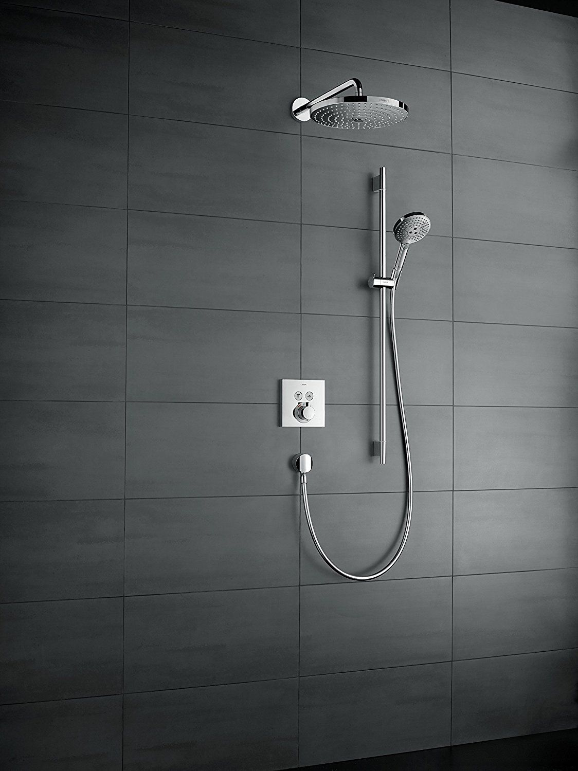Hansgrohe Showerselect Unterputz Thermostat 2 Verbraucher Chrom