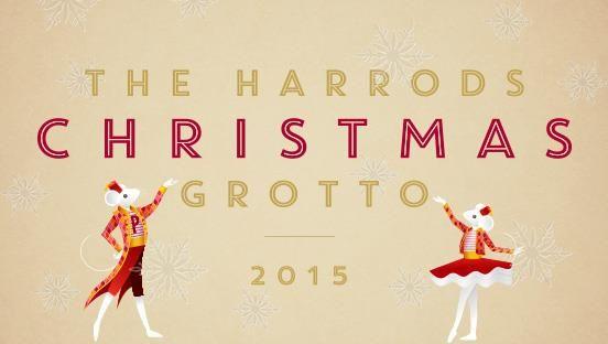 Christmas theme at Harrods | Harrods christmas grotto ...