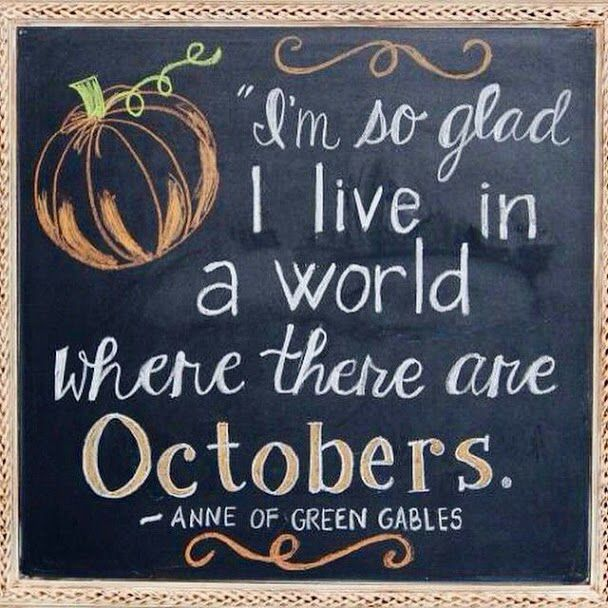 Hello October So Glad To See You Again Happy October Autumn