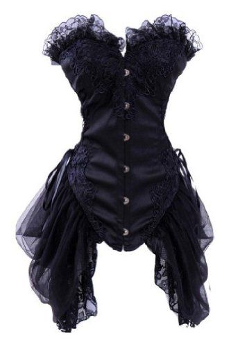 Royal Sexy Lace Trim Floral Bustier Overbust Boned Corset Mesh Skirt Clubwear Dealkiller Corset,http://www.amazon.com/dp/B00EYHPQJU/ref=cm_sw_r_pi_dp_jG1tsb0ZXHZE67VS