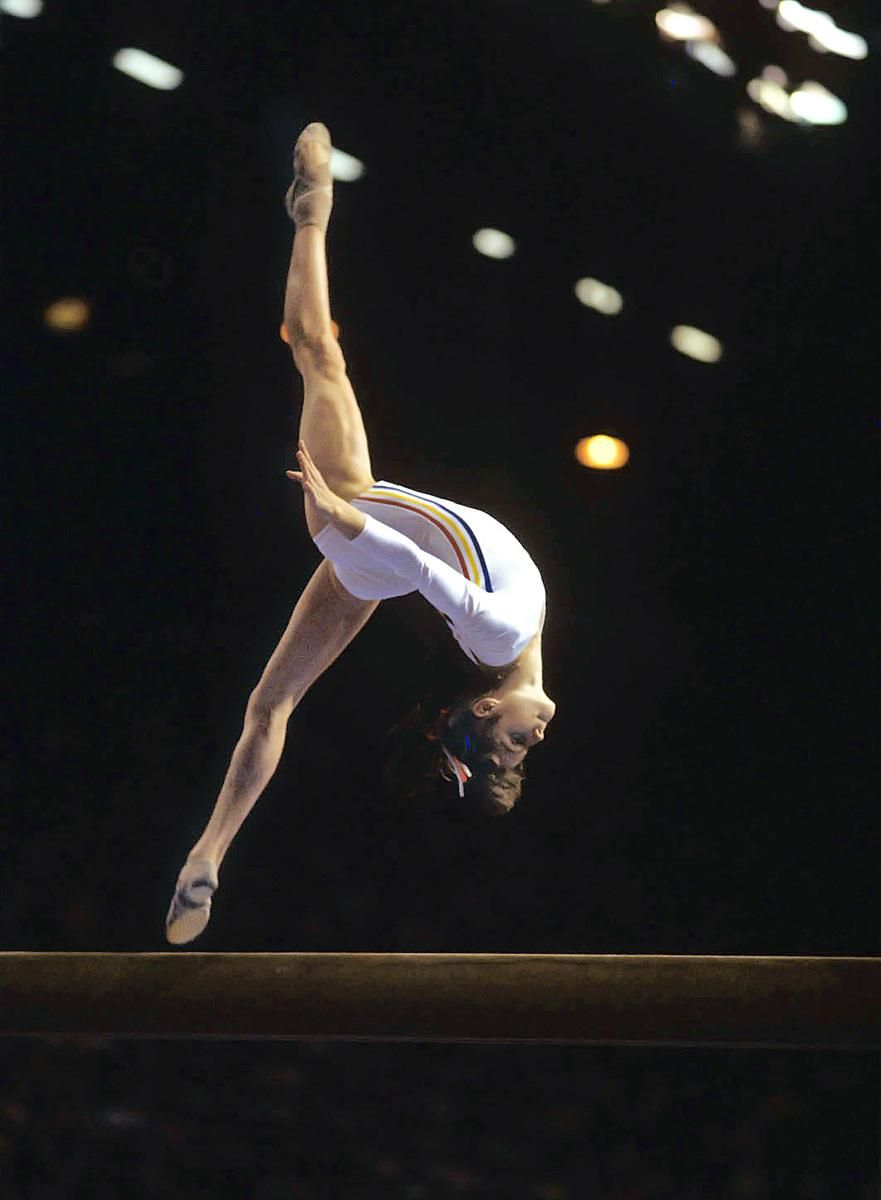 photo Nadia Comaneci 9 Olympic medals