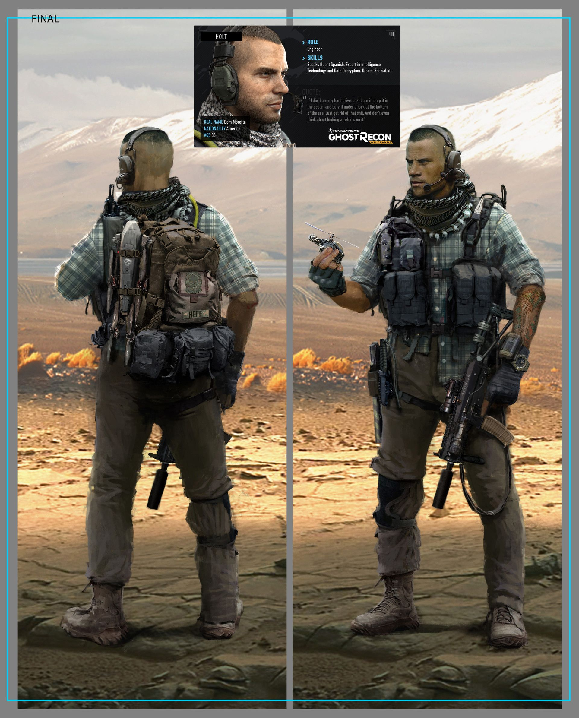 Artstation is the leading showcase platform for games film media entertainment artists - Weaver ghost recon ...