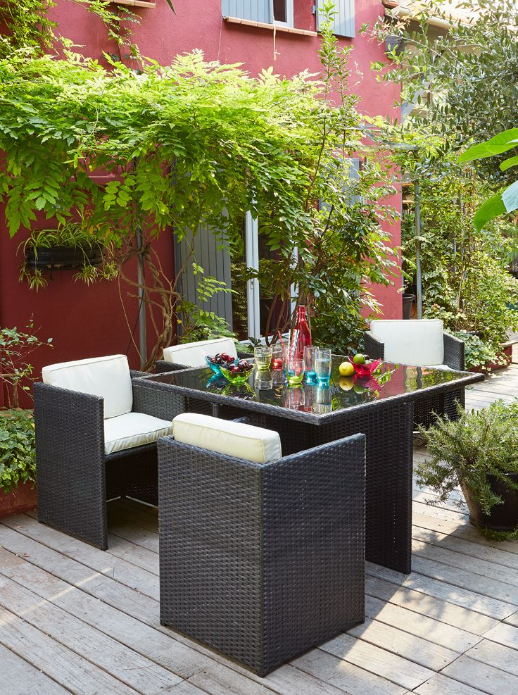Salon de jardin - Alinéa - Jeu concours Pinterest - A gagner… | Déco ...