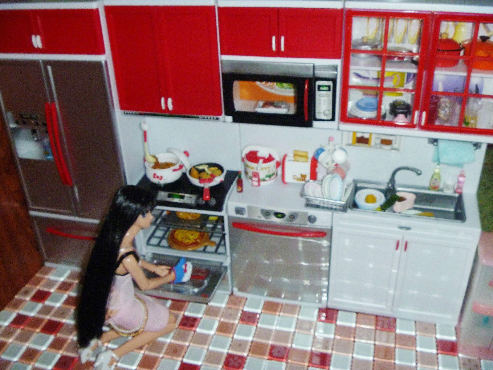 Miniature Modern Comfort kitchen set Rement-Like 4 Blythe,Licca ...