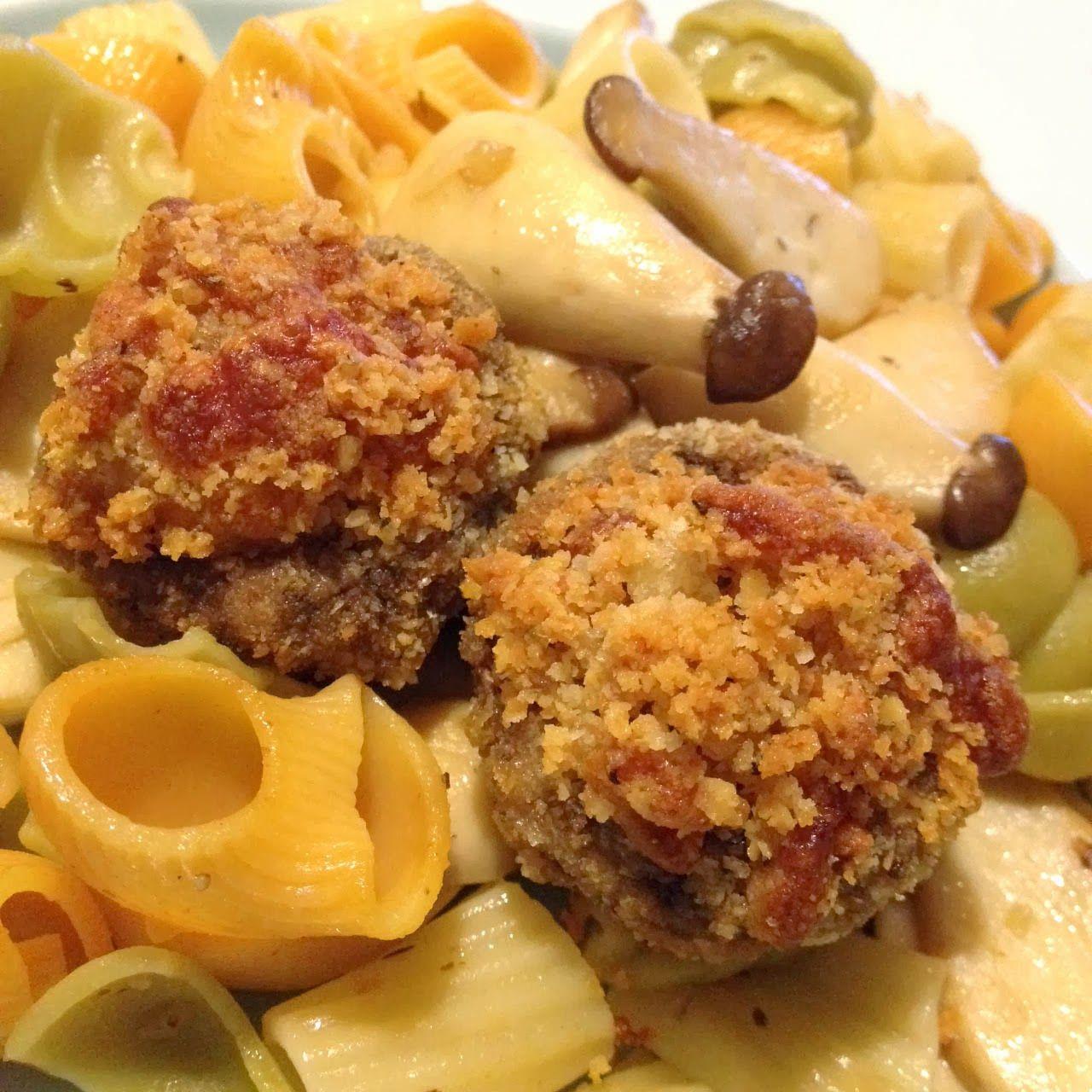 Loft48 Crusted Parmesan Mushrooms (Air Fryer Recipe