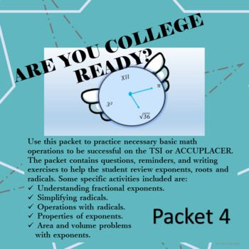 Use this packet to practice necessary basic math operations to be ...