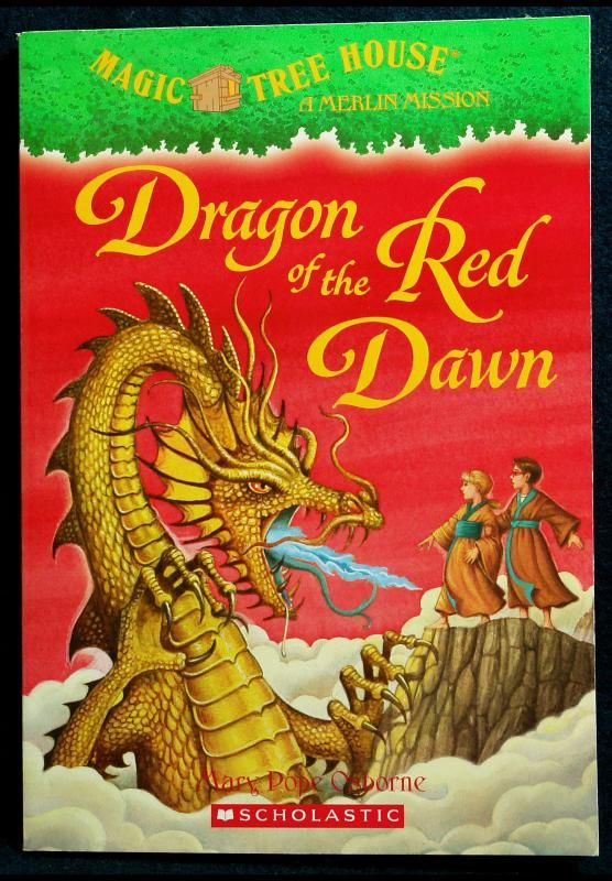 Magic Tree House Dragon Of The Red Dawn Mary Pope Osborne With