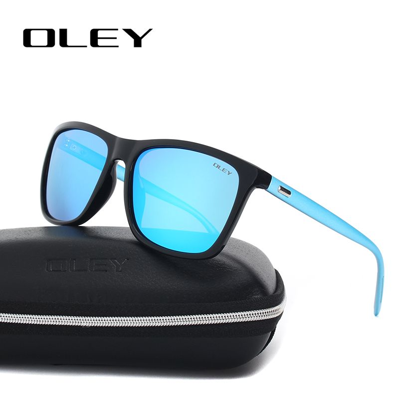 ba8bb6f2567f34 OLEY Unisex Square Sunglasses Men Polarized women brand designer Retro  driving Sun Glasses Accessories goggles Y55086
