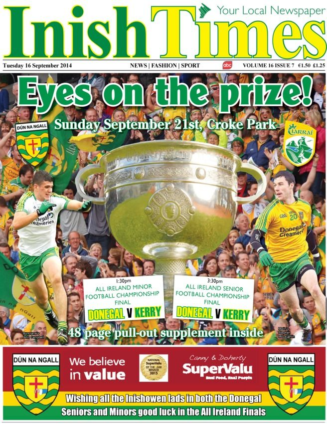 Inish Times 16 September 2014 edition - Read the digital edition by Magzter on your iPad, iPhone, Android, Tablet Devices, Windows 8, PC, Mac and the Web.