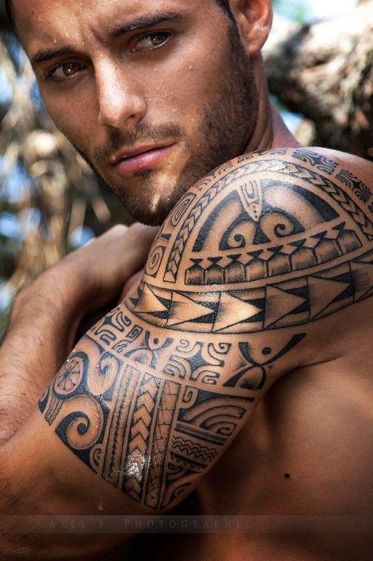 Thibaut Modelia Tatouage Polynesien Tatouage Maori Tatouage