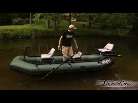 Stealth Craft Boats Hooligan Raft Boat Rafting Stealth