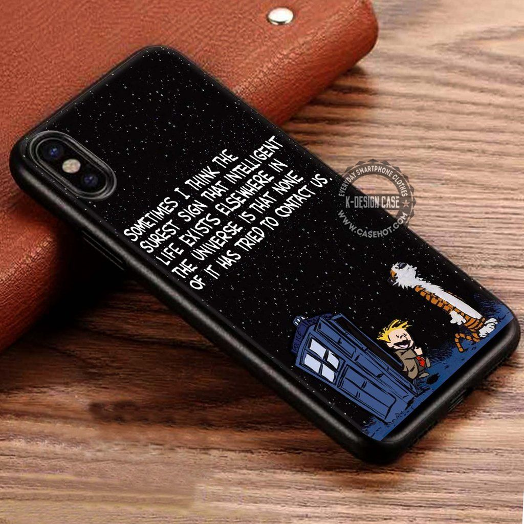 Calvin And Hobbes Staring Galaxy 3 iphone case