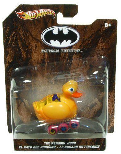 The Penguin Duck Batman Returns Hot Wheels Vehicle by Mattel. $6.08 ...