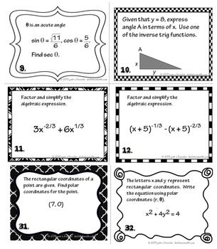 AP Calculus BC Calculus 2 Review of PreCalculus and Trig