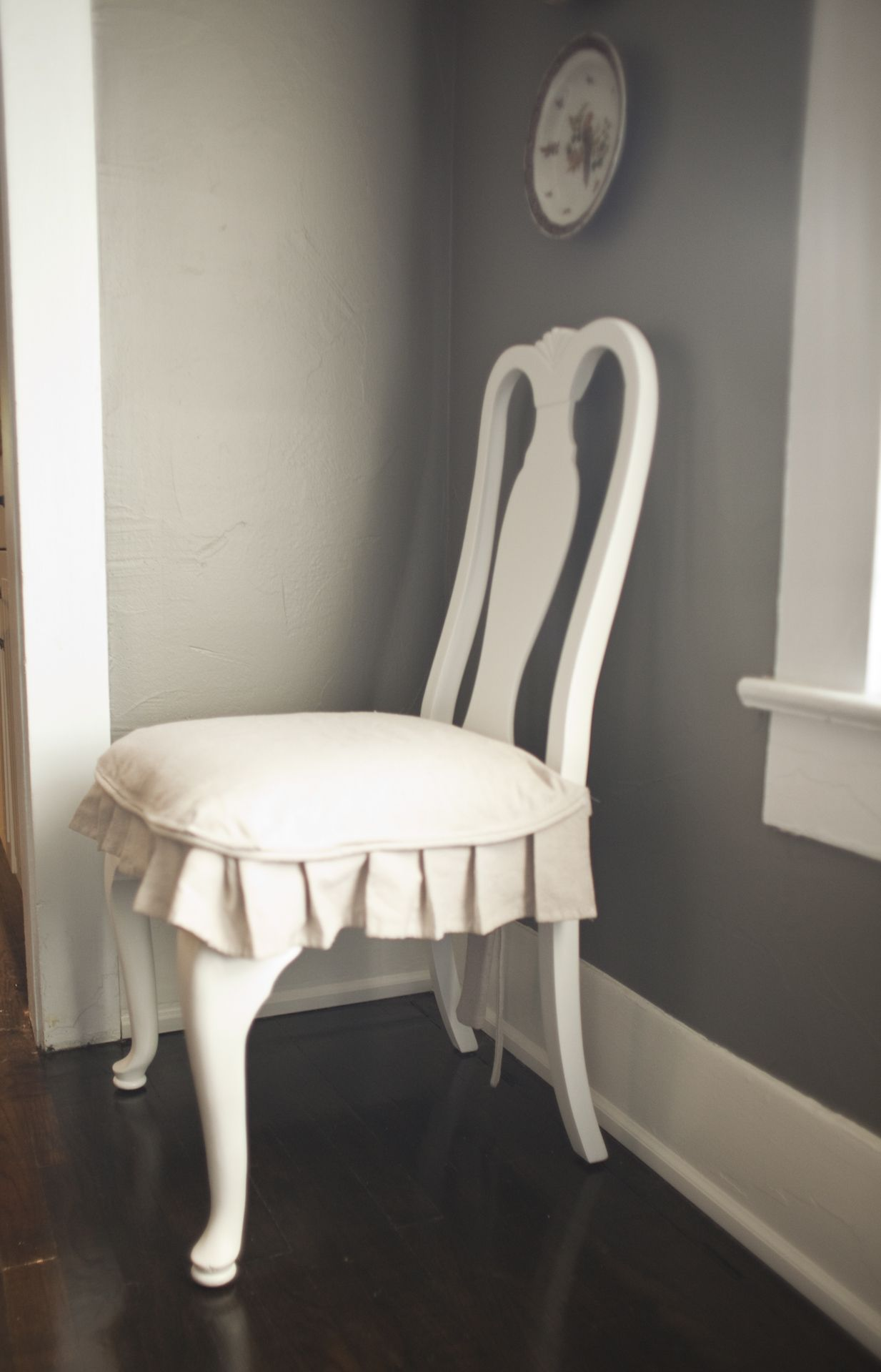 Dining Chair Covers In Spanish Lafuma Gravity Slipcovers Daily Haley Pinterest