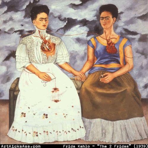 Frida Kahlo - The Two Fridas