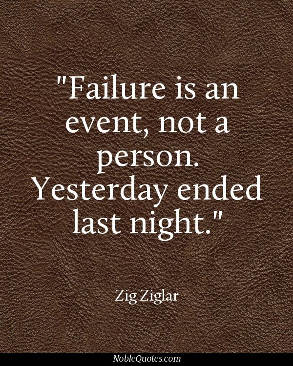 Inspirational Quotes About Failure: Failure And Mistakes Quotes