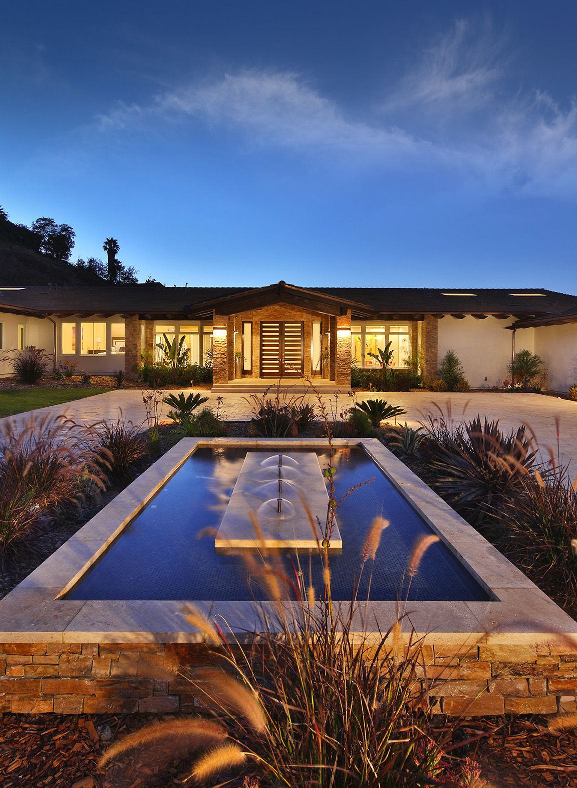 Luxury Modern Ranch Style Home Exterior Luxury Homes Dream Houses Ranch Style Homes Modern Ranch