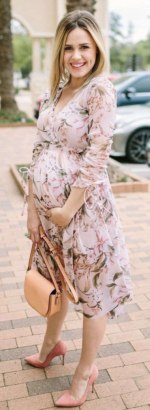 Confessions of a tired mama x Blush Dress