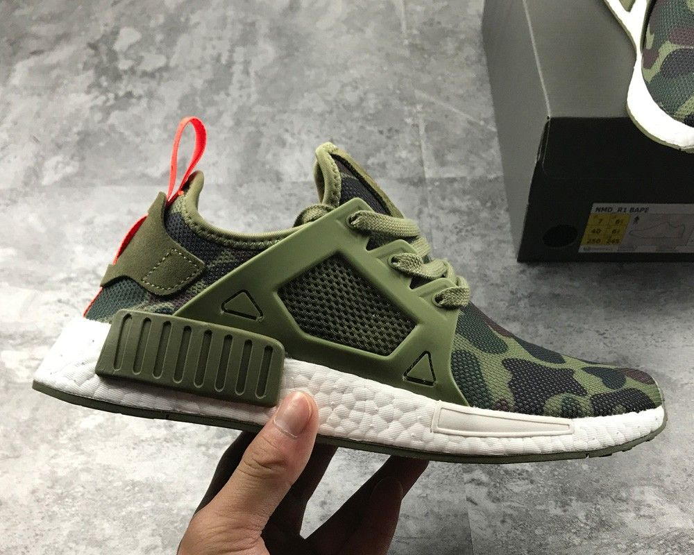 meet b3c6c ac296 2019 的 adidas NMD XR1 Geen Camo Olive Cargo Black For Sale ...
