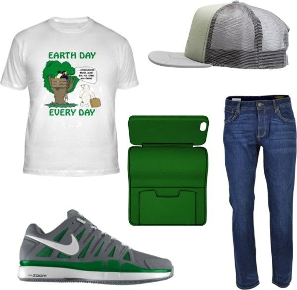 Celebrate Earth Day Outfit For Men | Earth Polyvore and Shopping