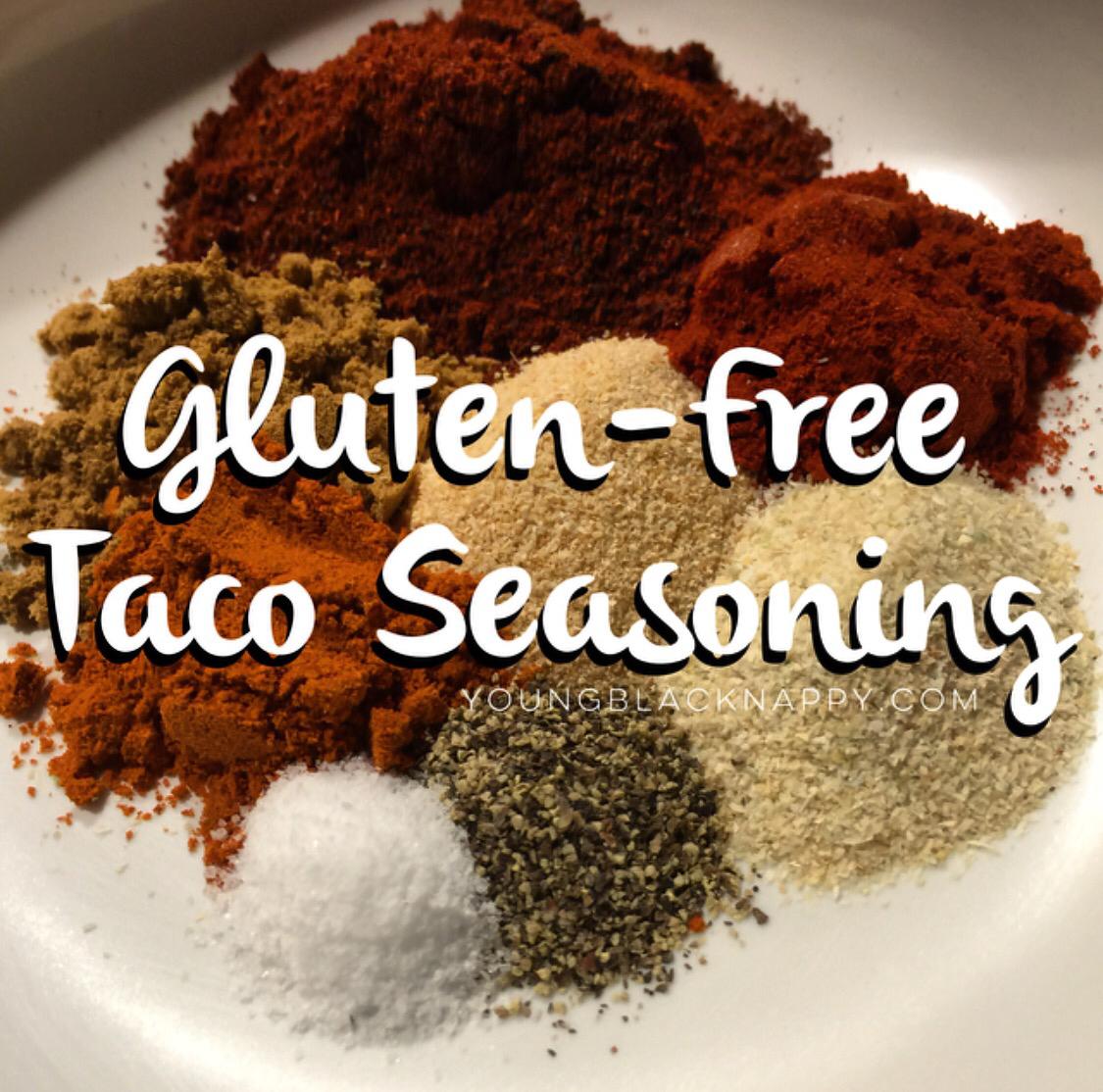 #ybnHealth: Gluten-Free Taco Seasoning Recipe | young.black.nappy.