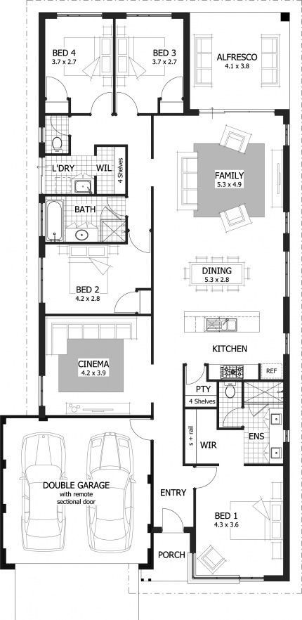 Nicholson Floor Plan   Making Intelligent Use Of Space, This 231sqm Home  Has Modern Day Features For Any Family.