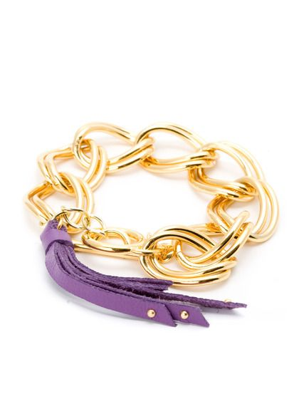 Violet Brinkley Tassel Bracelet by Gorjana on Gilt.com