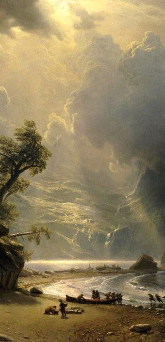 Pin By Alicha Lima On Albert Bierstadt Painting Art