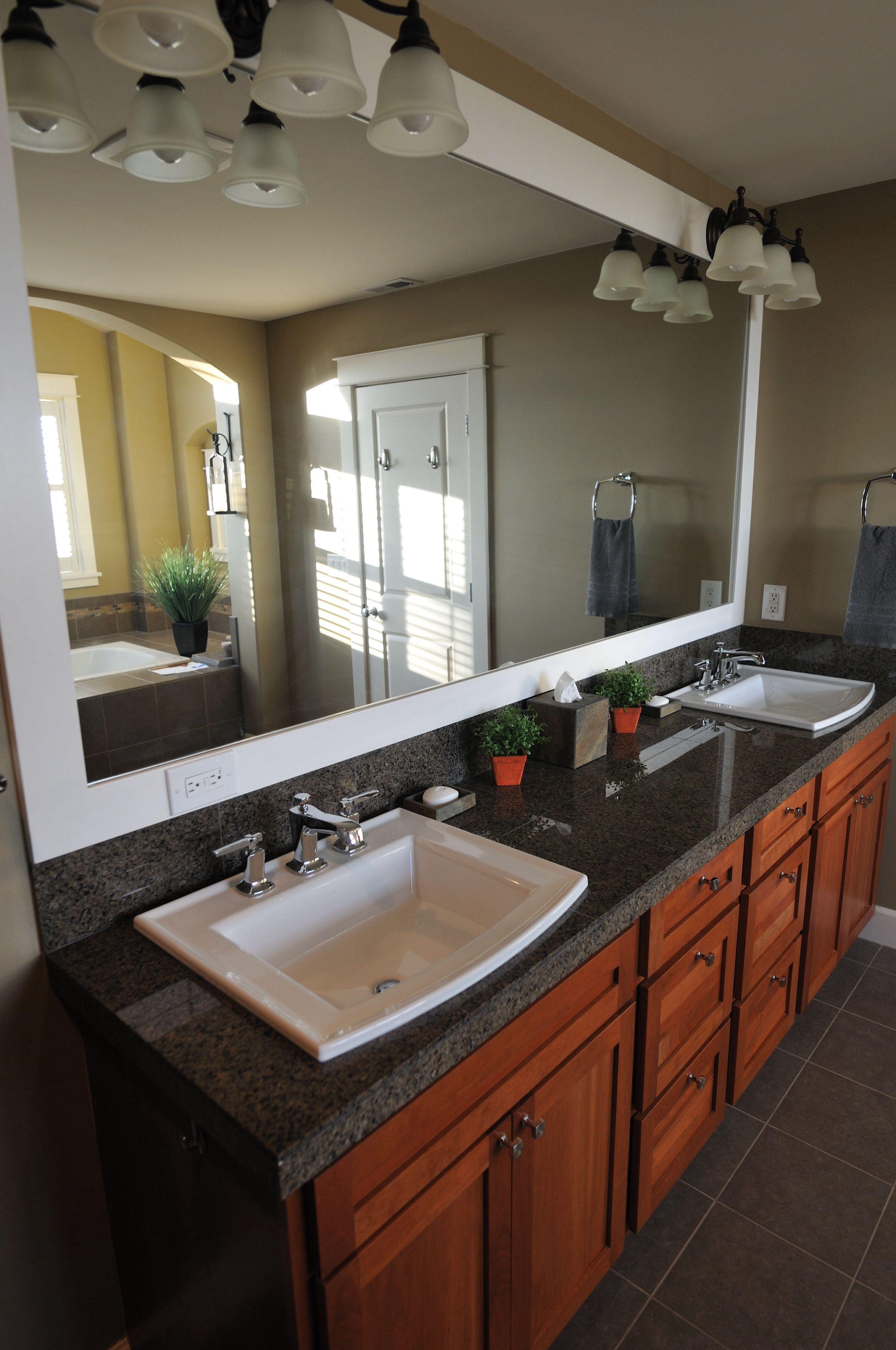 Kohler Archer Sink and Kohler Margaux Faucets Master Bath