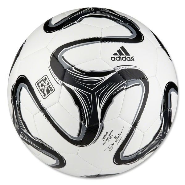 adidas 2014 MLS Glider Soccer Ball (White/Black/Night Shade)