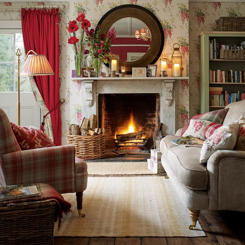 Laura ashley english country english living rooms - Country cottage style living room ideas ...