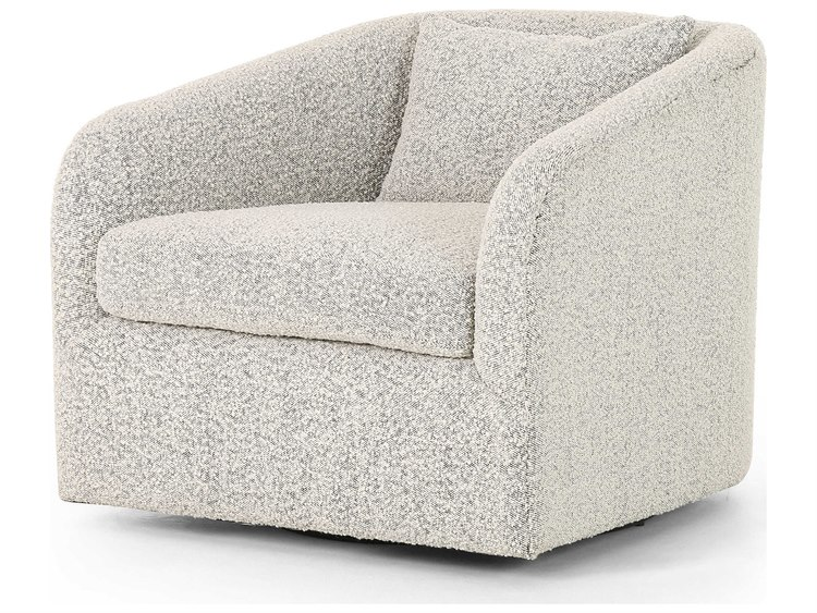 Four Hands Kensington Knoll Domino Swivel Accent Chair In 2020