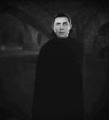 Black /& White Photo Vampire Bela Lugosi Dracula