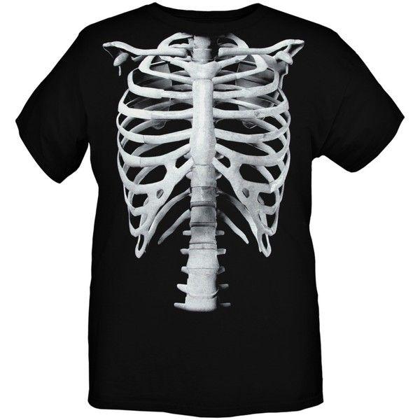 Ribs Black T-Shirt | Hot Topic ($21)