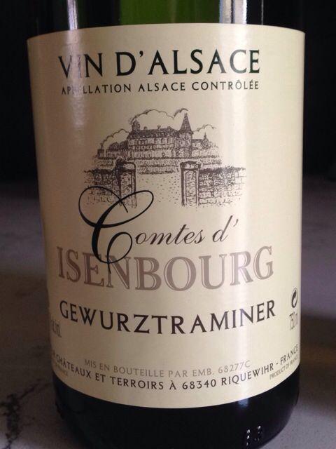 Comtes D Isenbourg Gewurztraminer Vin D Alsace France 140512 At Munskankarna Simrishamn Sweden Wine Bottle French Wine Wines