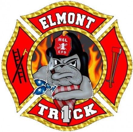 elmont fire department truck company 707 logo fire department rh pinterest com au fire department logos and symbols fire department logos and symbols