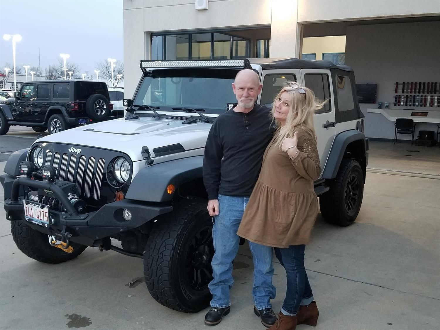 Adam S New 2012 Jeep Wrangler Congratulations And Best Wishes