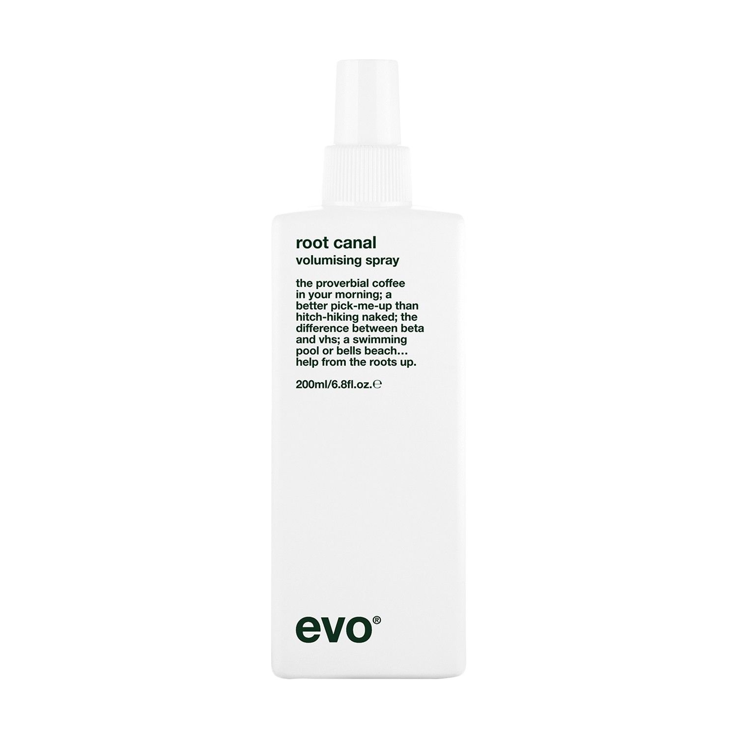 Evo root canal volumizing spray  Shops Flats and Pump
