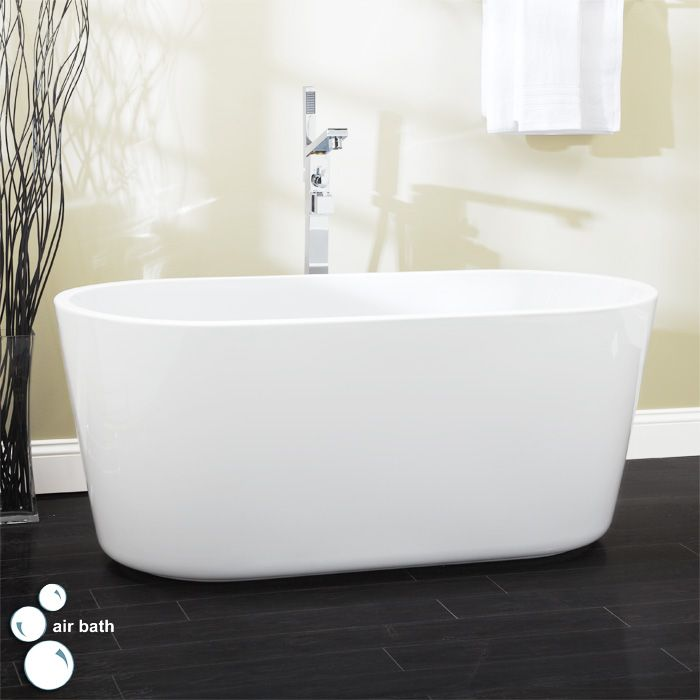 55 Imler Freestanding Acrylic Air Bath Tub$2,729.95 - $2,959.95 ...
