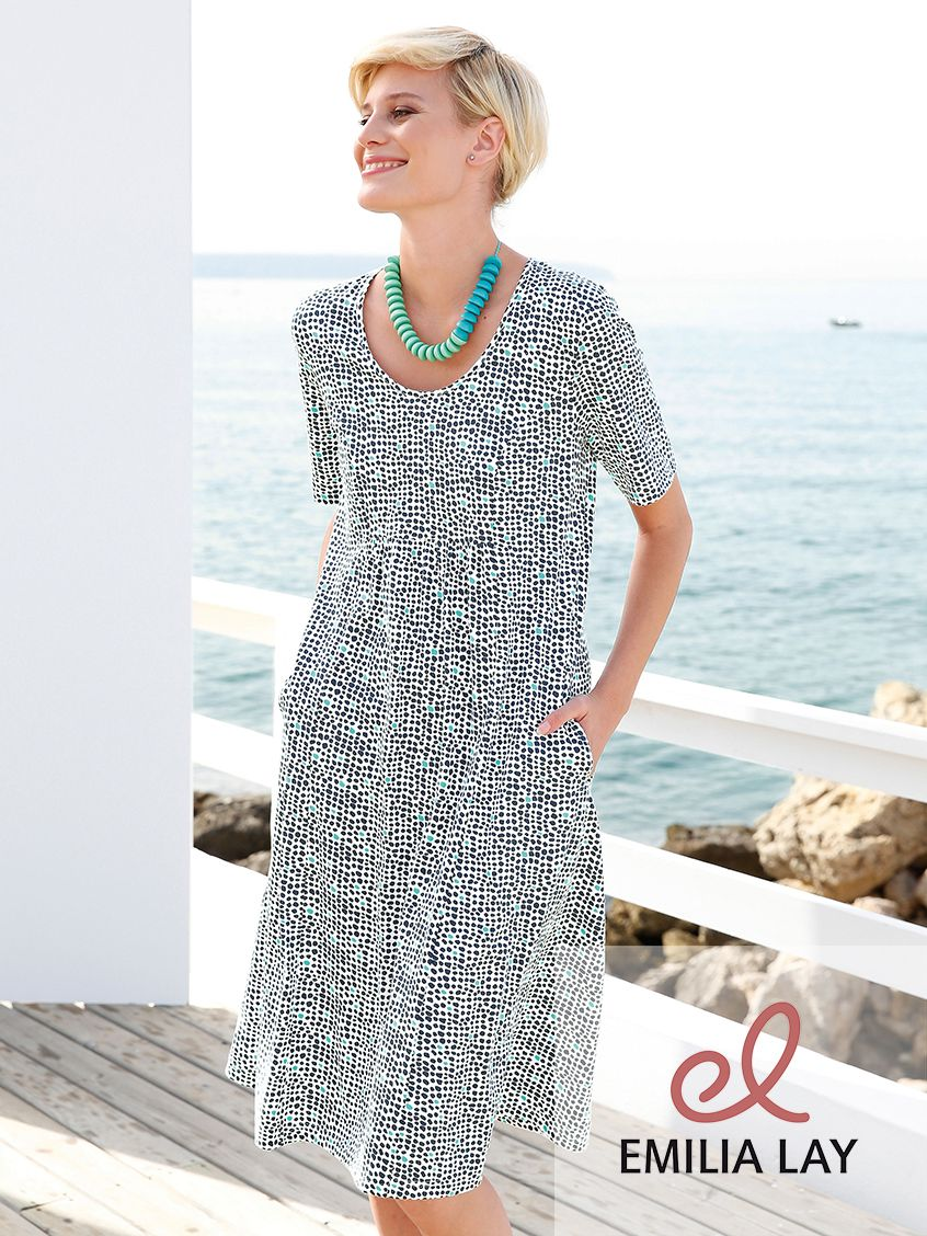 Kleid mit arm green cotton arms and marines