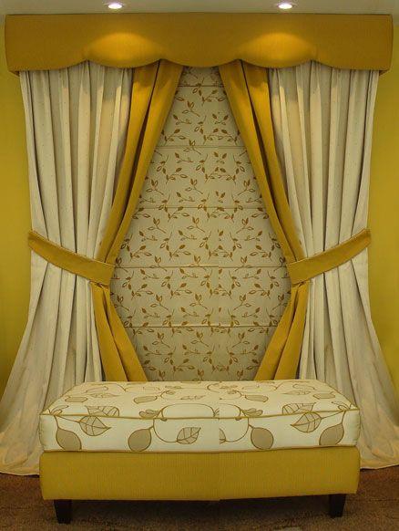 Modernas hogar pinterest moderno cortinas y - Cortinas modernas para recamara ...