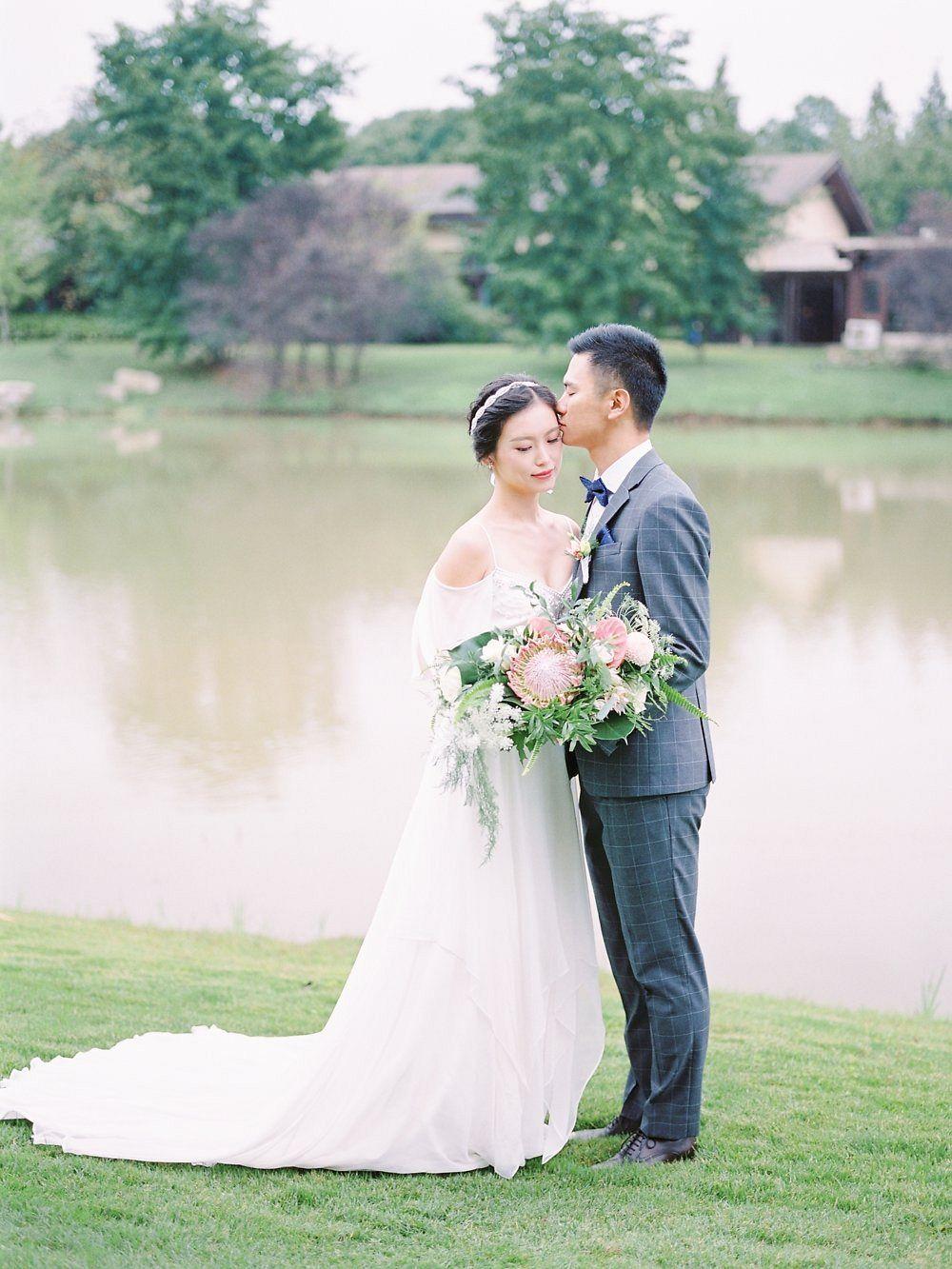Western style chinese wedding gray wedding inspiration pinterest