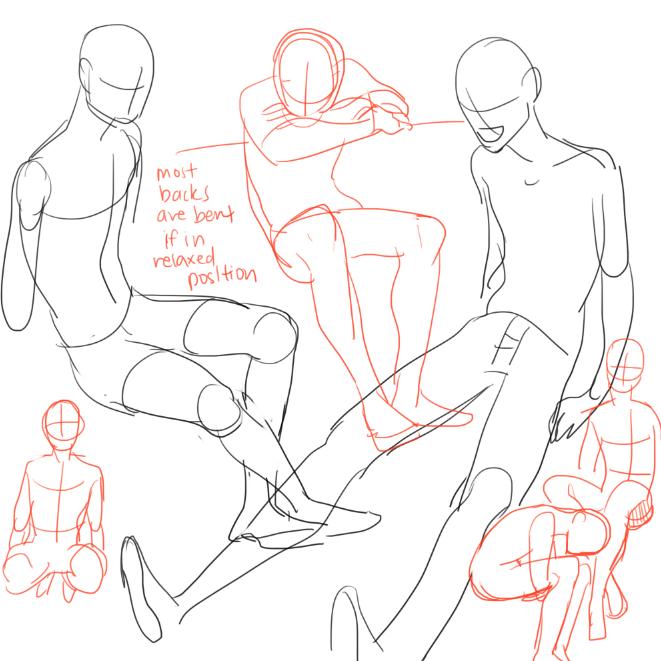 position shoulder legs Tumblr on